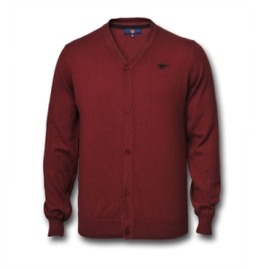 Burgundy Arsenal Cadigan £20 http://arsenaldirect.arsenal.com/knitwear/arsenal-cardigan/invt/a8449