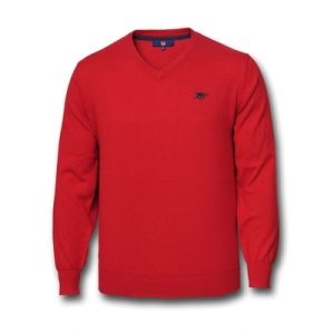Red Arsenal Jumper £20 http://arsenaldirect.arsenal.com/knitwear/arsenal-v-neck-sweater/invt/a8452