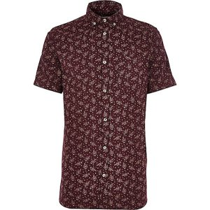 http://eu.riverisland.com/men/shirts/short-sleeve-shirts/Purple-Japanese-floral-print-shirt-284238
