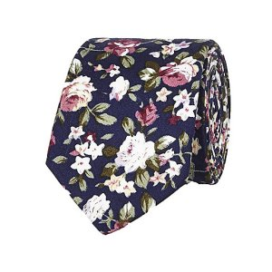 http://eu.riverisland.com/men/accessories/ties--bow-ties/Navy-floral-print-tie-285224