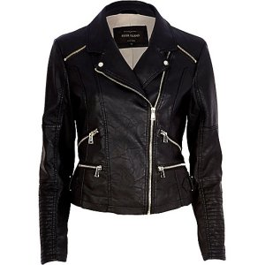 http://eu.riverisland.com/women/coats--jackets/biker-jackets/Black-leather-look-biker-jacket-661463