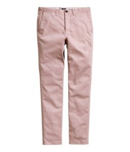 Light pink chinos €24.99