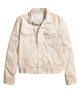 White Denim Jacket €39.99