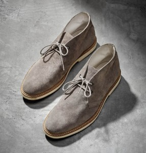 Grey Desert Boots price not available on website