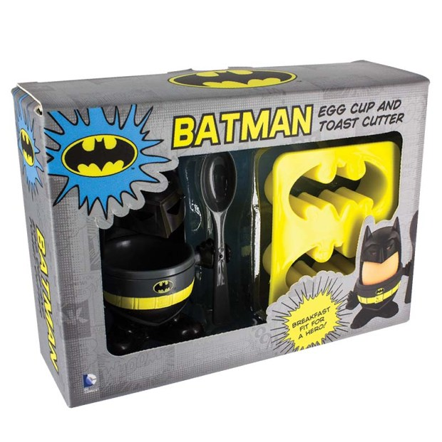 Batman Eggcup & Toast Cutter Gift Set €11.99