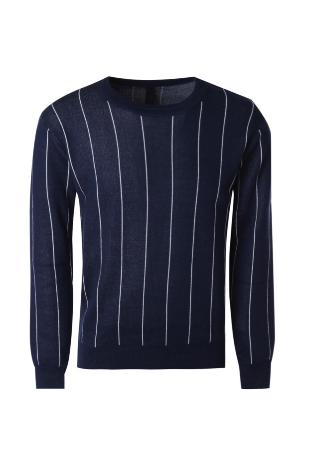 Navy striped jumper €19